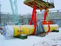 Разгрузка ВТУК на Игналинской АЭС