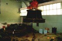 Турбина  Плявиньской     ГЭС