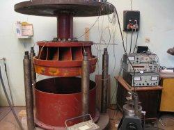 Модель радиально-осевого рабочего колеса для ГЭС Нива-3