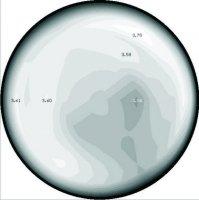 Измерение расхода в напорном водоводе гидрометрическими вертушками