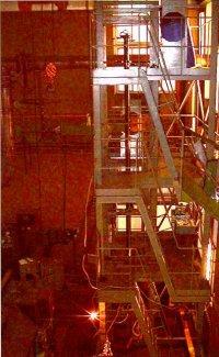 Стенд для исследования течения и теплообмена в канале охлаждения Российского хранилища делящихся материалов