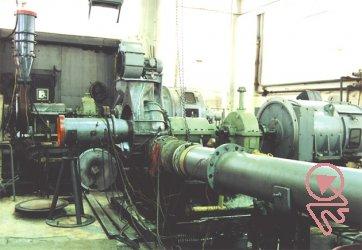 Экспериментальный стенд для модельных исследований и отработки проточных частей центробежных компрессорных машин (ЦКМ)
