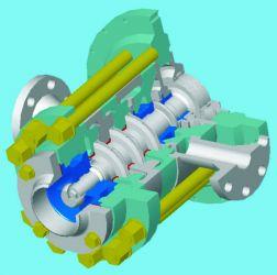 Конденсатный гидротурбонасос для турбоустановок АЭС с реактором ВВЭР-1000