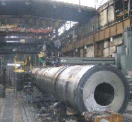 Рис.2. Изготовление корпуса ВТУК на заводе Шкода