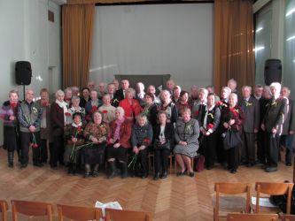 Cостоялось торжественное чествование ветеранов-блокадников из числа бывших и настоящих сотрудников Общества.