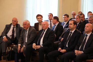 30 ноября 2017 г. после открытия барельефа состоялось торжественное вручение сотрудникам ОАО «НПО ЦКТИ» наград от сторонних организаций.
