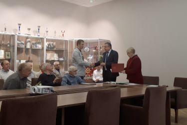 Награждение и поздравление сотрудников ОАО «НПО ЦКТИ», приуроченные ко «Дню машиностроителя».
