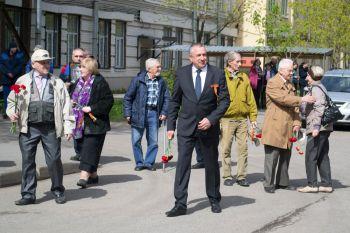 8 мая в 12:00 состоялась ежегодная торжественная церемония возложения цветов к Вечному Огню у памятника, сооруженного в честь сотрудников НПО ЦКТИ, погибших в годы Великой Отечественной войны.