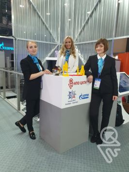"From September 30 to October 4, NPO CKTI took part in the IX St. Petersburg International Gas Forum as part of the ""Import Substitution in the Gas Industry"" exposition"